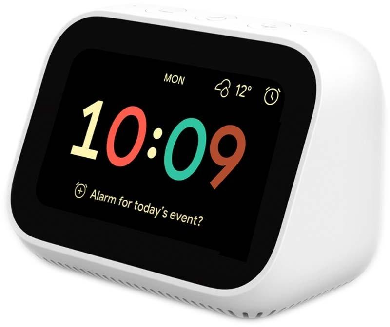 """Assistente Xiaomi Mi Smart Clock 4"""" com Google Assistant"""