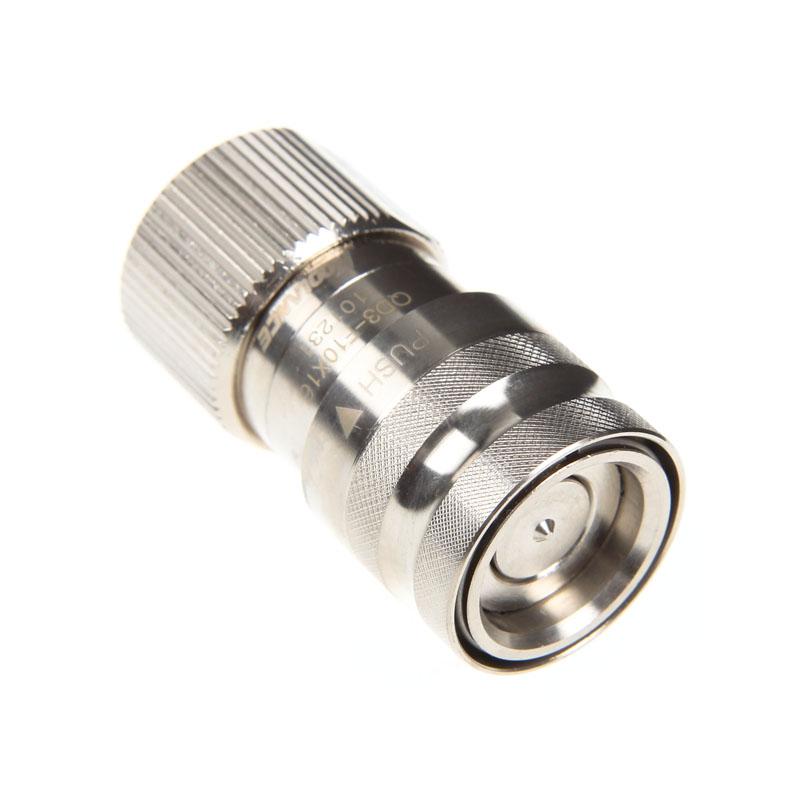 Conector Rápido Koolance QD3 No-Spill Femea 10-16mm Macho Cromado