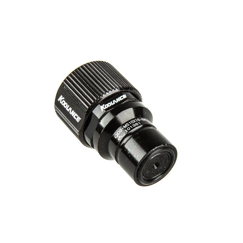 Conector Rápido Koolance QD3 No-Spill Macho 10-16mm Macho Preto