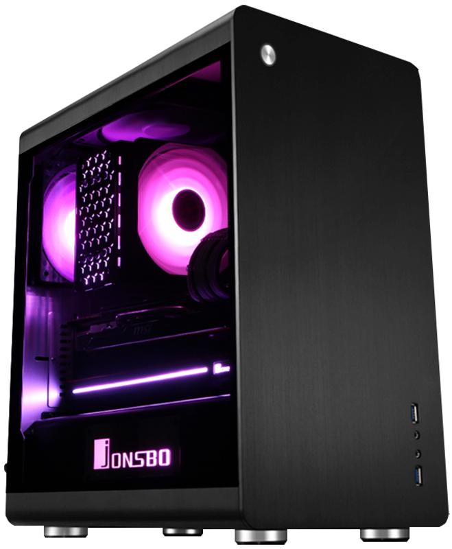 Caixa Micro-ATX Jonsbo RM3 Preta, Vidro Temperado