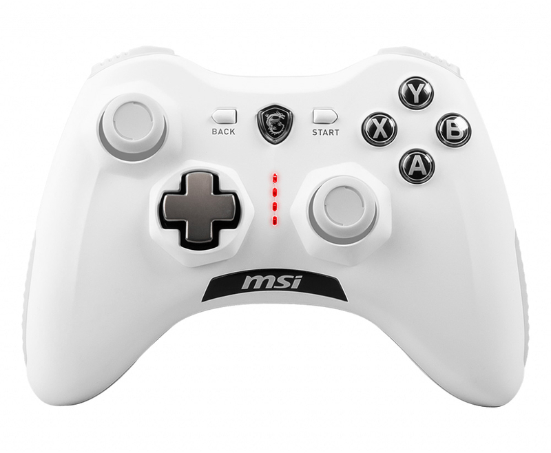 Gamepad MSI Force GC30 V2 Wireless Branco PC / PS3 / Android