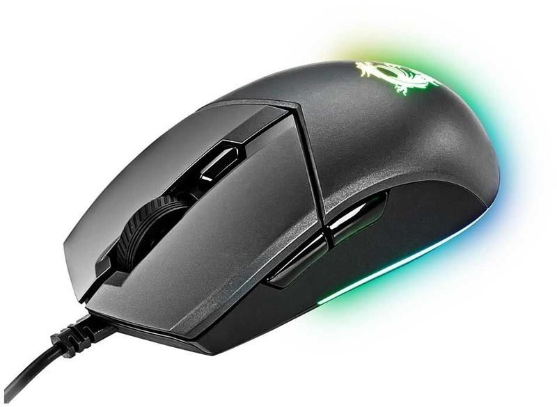 MSI - Rato MSI Clutch GM11 RGB Preto