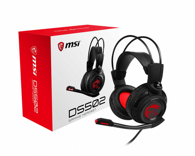 Auscultadores MSI DS502 GAMING