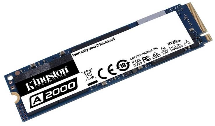 Kingston - Disco SSD Kingston A2000 500GB M.2 NVMe 2280