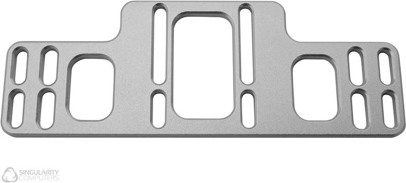 Singularity - Back Plate Universal Singularity Computers 120/140mm - Prateado