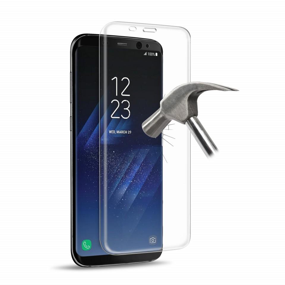 Vidro Temperado puro Full Edge para Samsung Galaxy S8+