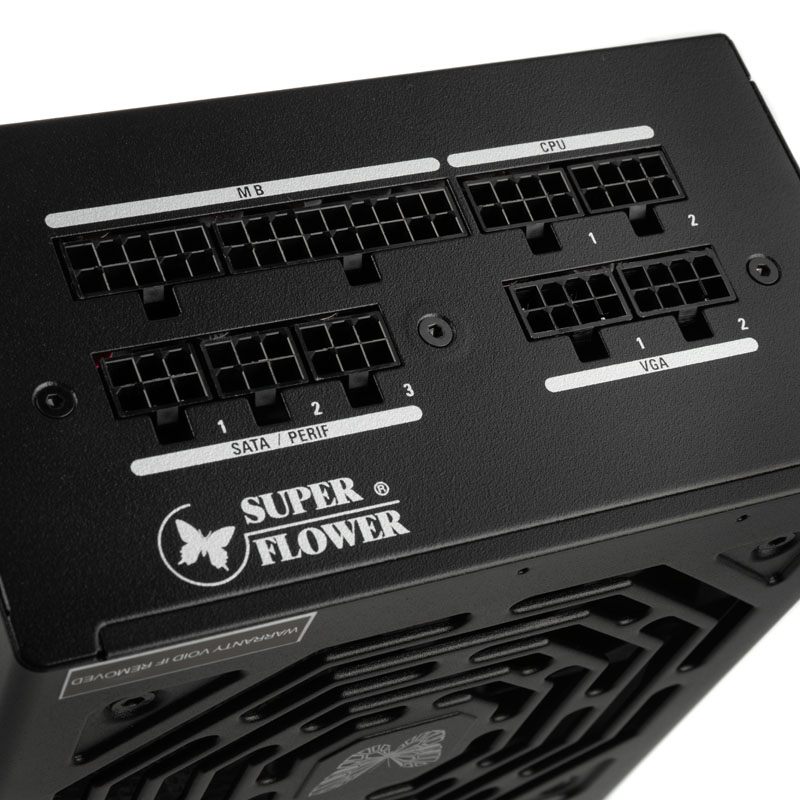 Super Flower - Fonte Modular Super Flower Leadex III 650W 80+ Gold