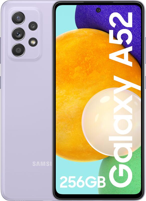 """Samsung - Smartphone Samsung Galaxy A52 6.5"""" (8 / 256GB) Violeta"""