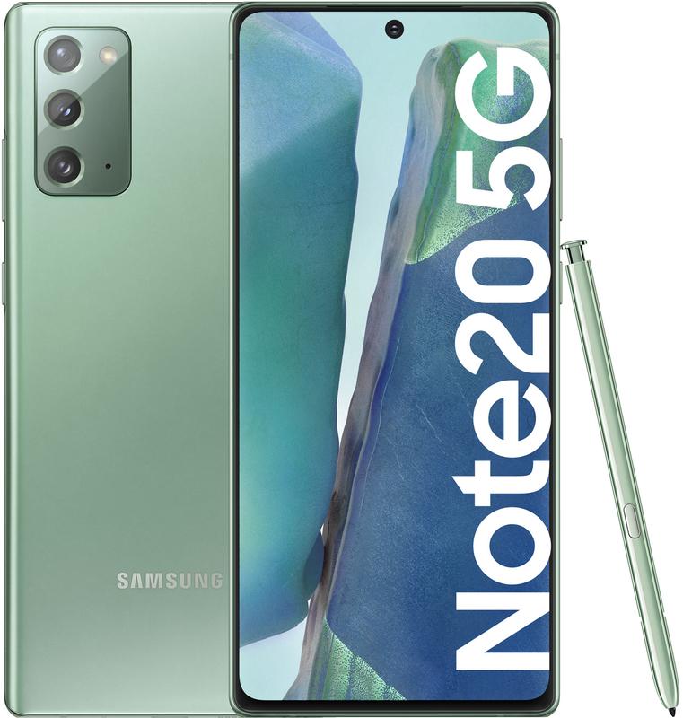 "Samsung - Smartphone Samsung Galaxy Note 20 5G 6.7"" (8 / 256GB) Mystic Green"