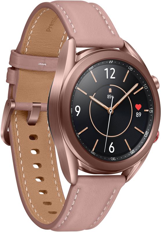 Samsung - Smartwatch Samsung Galaxy Watch 3 41mm LTE Bronze