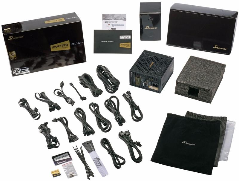 Seasonic - Fonte Modular Seasonic Prime Ultra 550W 80+ Gold