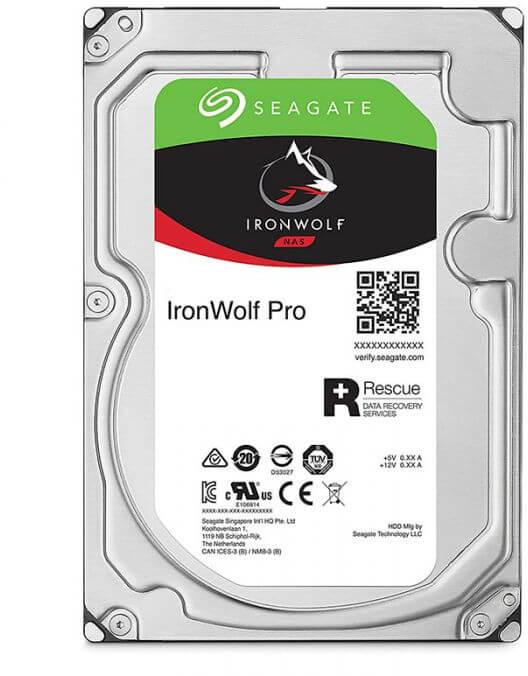 Seagate - Disco Seagate IronWolf Pro 10TB 7200pm 256MB SATA III