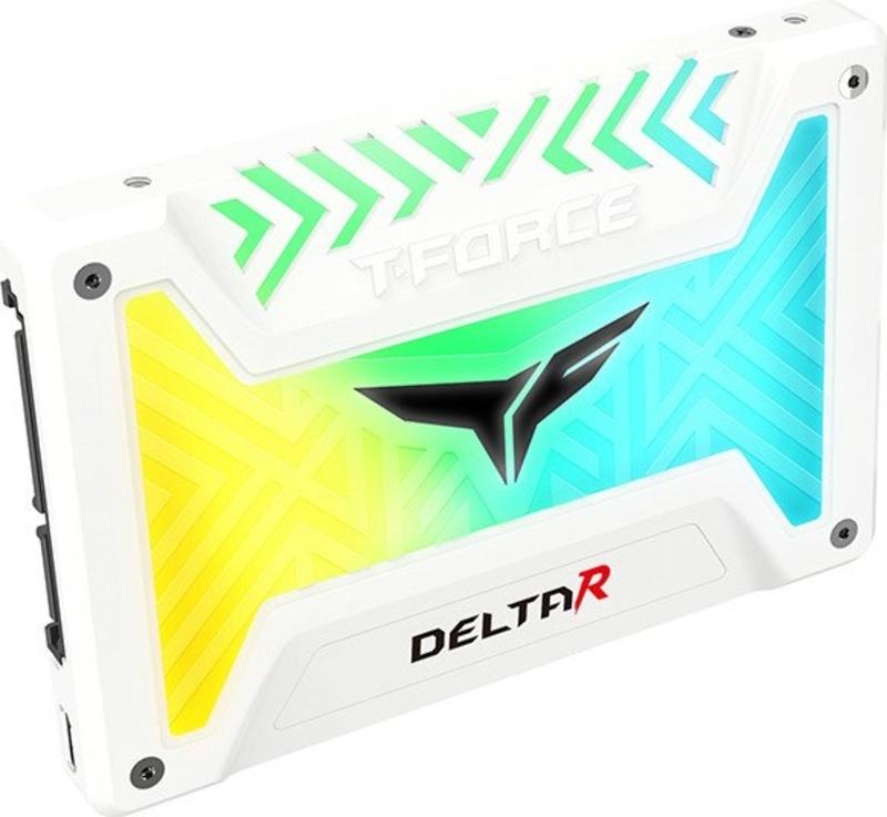 Team Group - Disco SSD Team Group T-Force Delta R RGB White 1TB SATA III