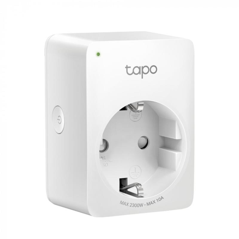 TP-Link - Tomada Inteligente Tapo P100 Suporta Alexa e Google Assistant (4 Pack)