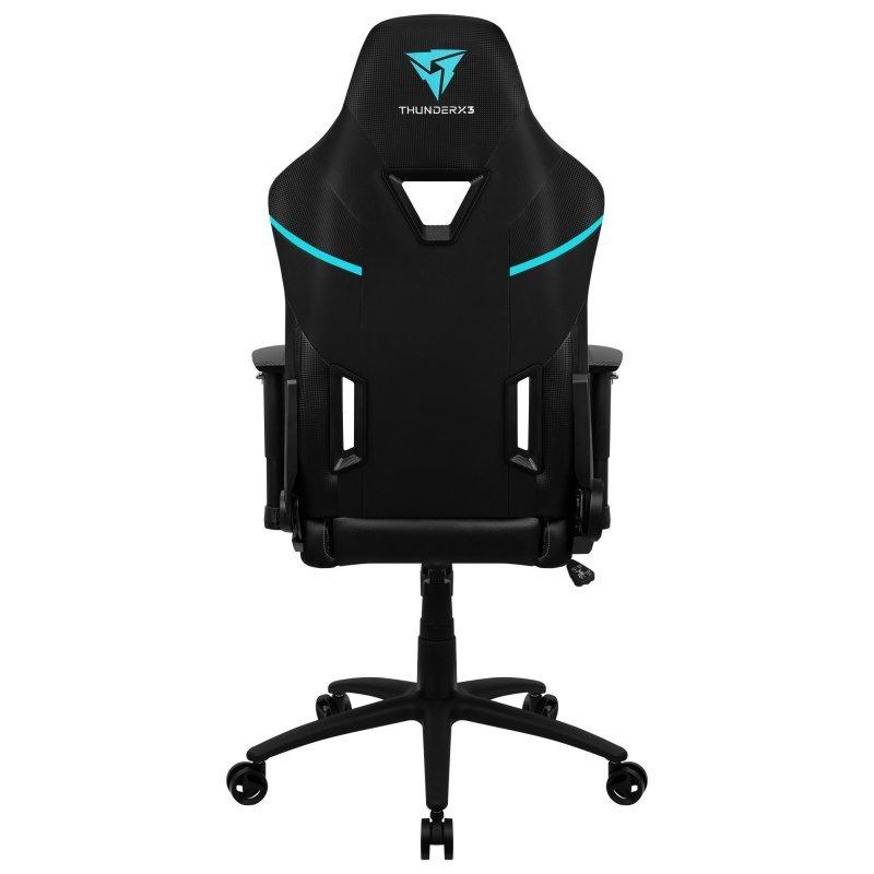 ThunderX3 - Cadeira Pro-Gaming ThunderX3 TC5 Jet Black (suporta até 150kg)