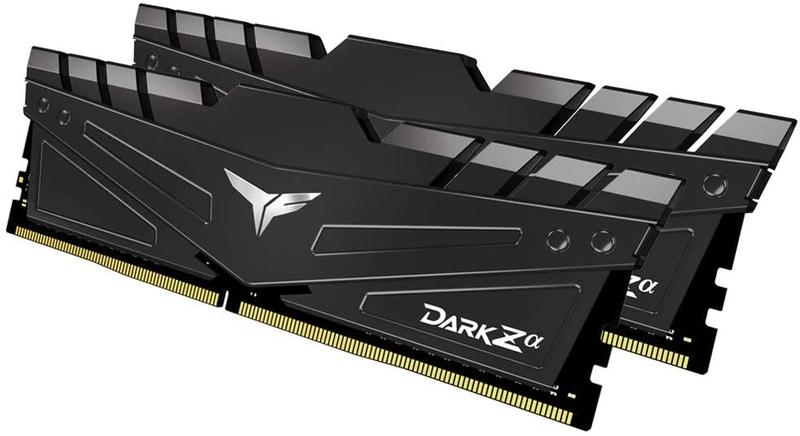 Team Group - Team Group Kit 16GB (2 x 8GB) DDR4 3200MHz Dark Za CL16