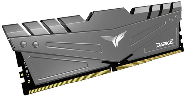 Team Group - Team Group Kit 32GB (2 x 16GB) DDR4 3200MHz Dark Z Grey CL16