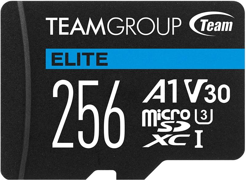 Cartão Team Group Elite MicroSDXC A1 UHS-I U3 V30 256GB