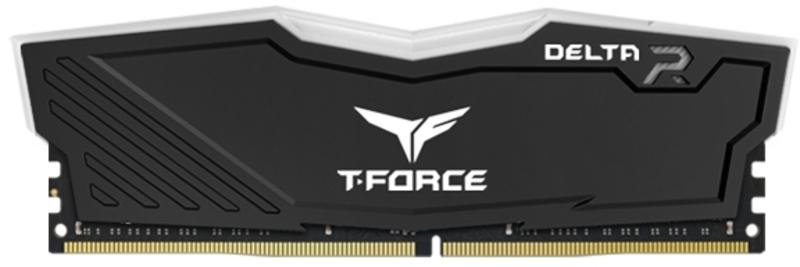 Team Group - Team Group Kit 16GB (2 x 8GB) DDR4 3600MHz Delta Preto RGB CL18