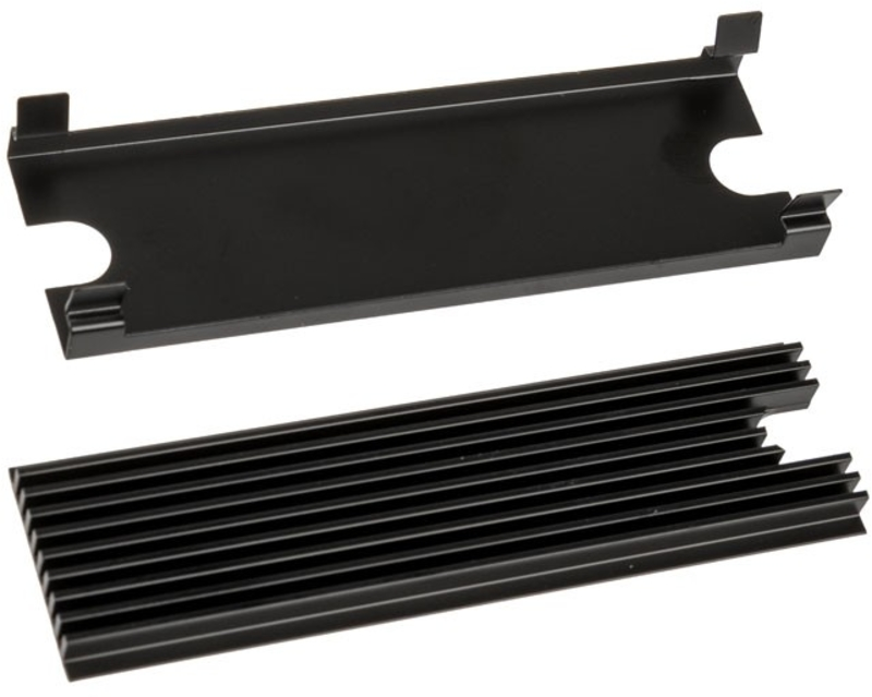 Thermal Grizzly - Cooler Discos Thermal Grizzly M.2 Preto