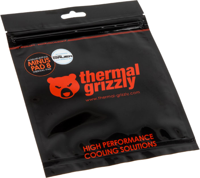 Thermal Grizzly - Thermal Pad Thermal Grizzly Minus Pad 8 120 x 20 x 1 mm (Pack 2)