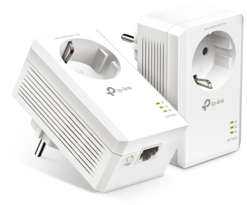 Powerline TP-Link AV1000 Gigabit PLC Passthrough Kit