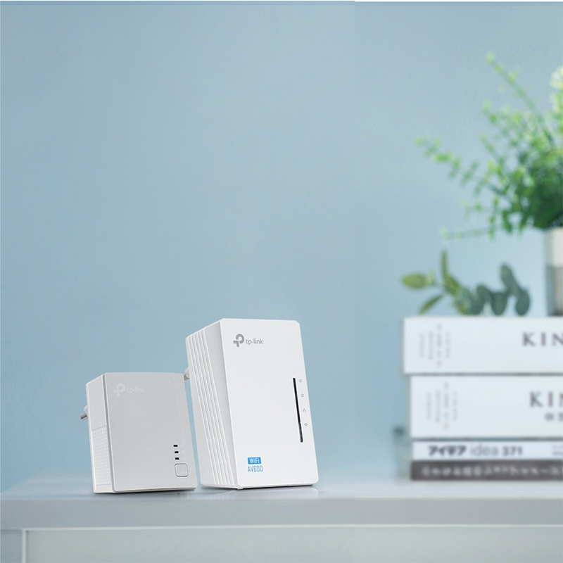TP-Link - Powerline TP-Link AV600 WiFi Extender N300 Kit