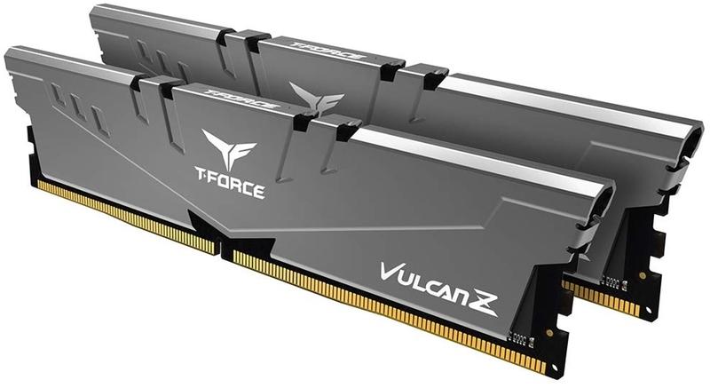 Team Group - Team Group Kit 16GB (2 x 8GB) DDR4 3600MHz Vulcan Z Grey CL18