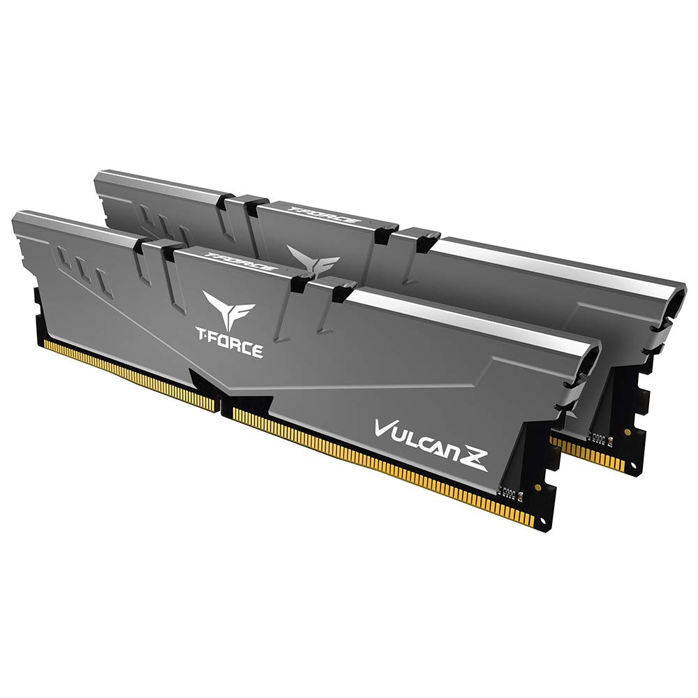 Team Group - Team Group Kit 32GB (2 x 16GB) DDR4 3200MHz Vulcan Z Grey CL16