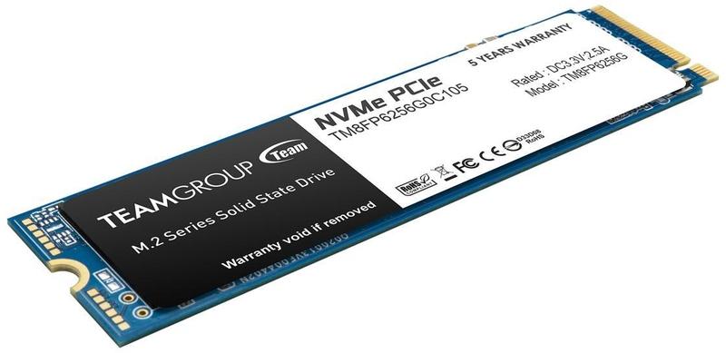 Team Group - Disco SSD Team Group MP34 256GB M.2 NVMe