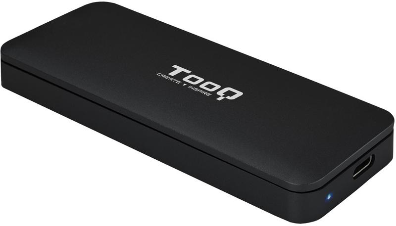Caixa SSD Tooq M.2 NVME - USB 3.1 Gen 2 Preto