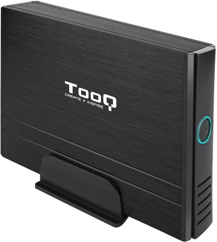 """Tooq - Caixa HDD Tooq 3.5"""" IDE / SATA - USB 2.0 Preto"""