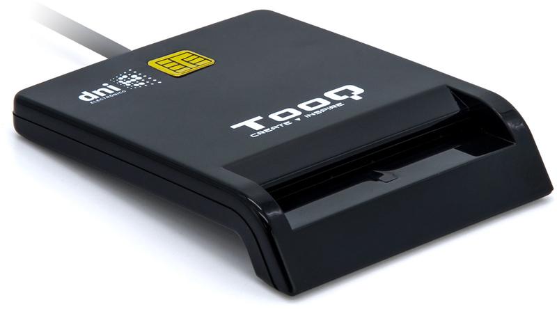 Tooq - Leitor de Cartões de Cidadão Tooq USB 2.0 Preto