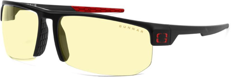 Óculos Gunnar Tornado 360 Gaming - Amber Preto Vermelho