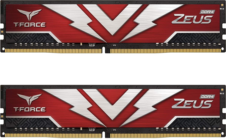 Team Group - Team Group Kit 16GB (2 x 8GB) DDR4 3200MHz Zeus CL20