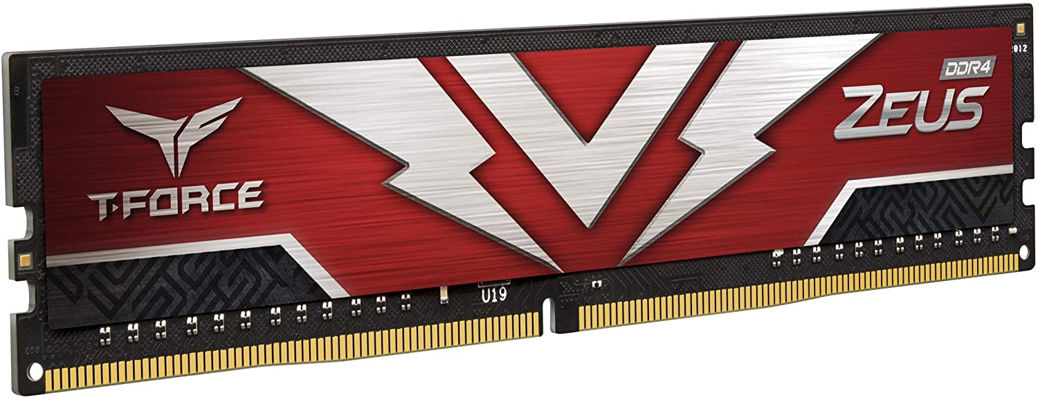 Team Group - Team Group Kit 32GB (2 x 16GB) DDR4 3200MHz Zeus CL20