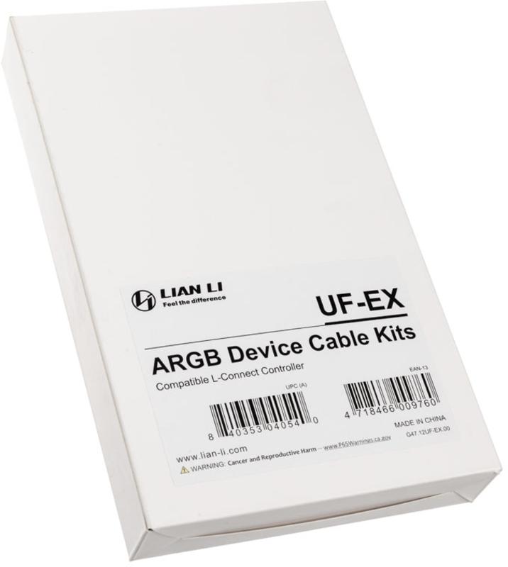 Lian Li - Kit Cabos Lian Li UF-EX ARGB