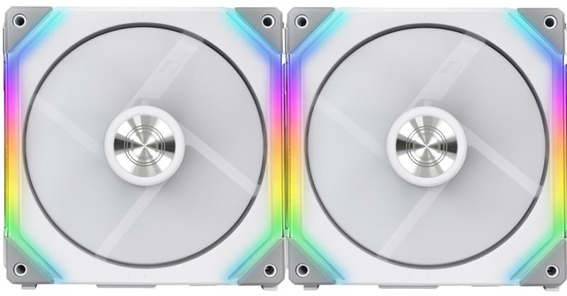 Lian Li - Ventoinha Lian Li UNI SL140 RGB PWM Branco 140mm (Pack 2)