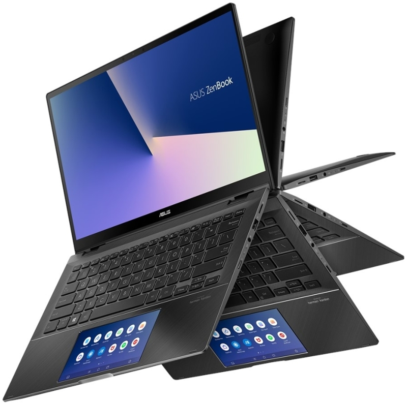 "Asus - Portátil Asus ZenBook Flip 14"" UX463FL i7 16GB 1TB MX250 Touch W10"