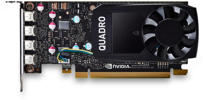 PNY - Gráfica PNY NVIDIA Quadro P620 V2 DVI 2GB GD5