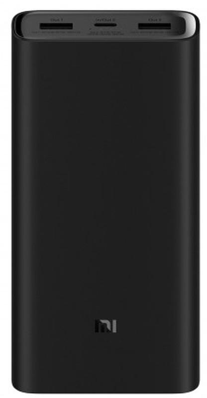 Powerbank Xiaomi Mi 3 Pro Quick Charge 3.0 20000mAh 45W Preto