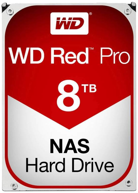 Western Digital - Disco Western Digital Red Pro 8TB 7200rpm 256MB SATA III