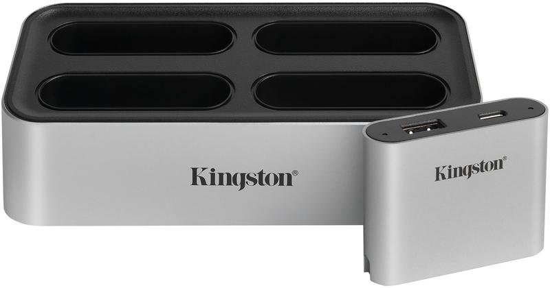 Kingston - Dock de Leitor de Cartões Kingston Workflow Station USB3.2 Gen2