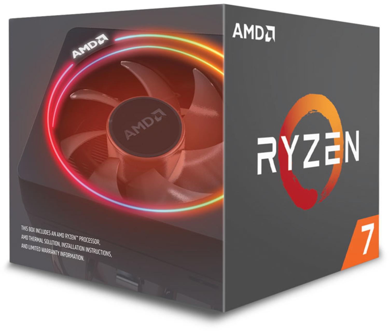 AMD - Processador AMD Ryzen 7 2700X 8-Core (3.7GHz-4.35GHz) 20MB AM4