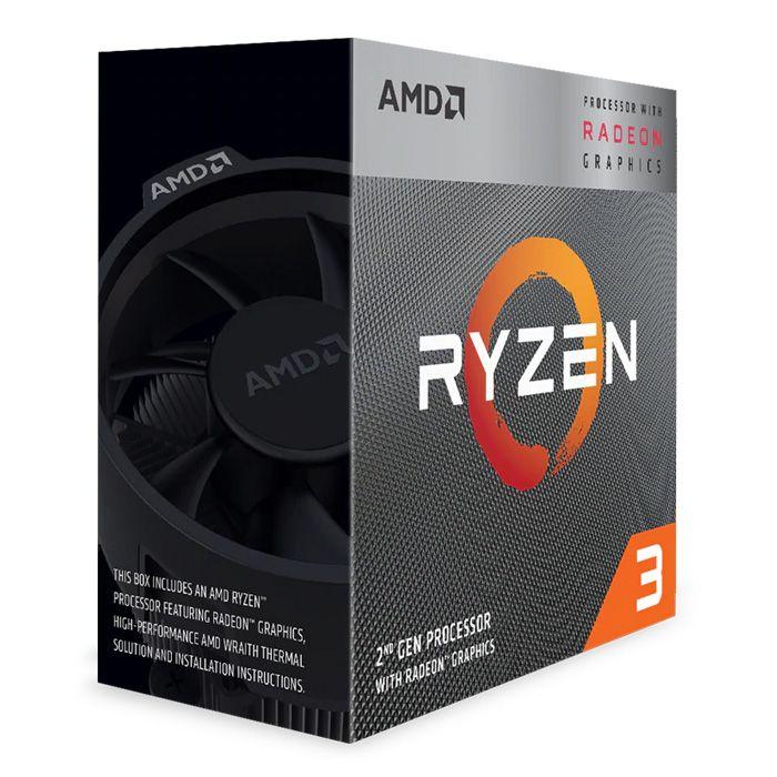 Processador APU AMD Ryzen 3 3200G 4-Core RX Vega (3.6GHz-3.9GHz) AM4
