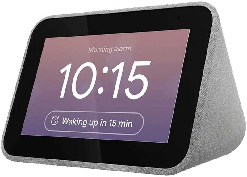 """Assistente Lenovo Smart Clock 4"""" com Google Assistant"""