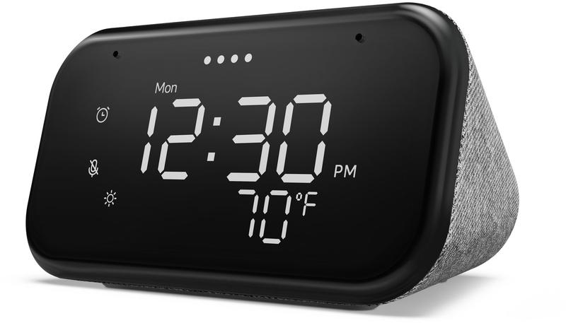 """Assistente Lenovo Smart Clock Essential 4"""" com Google Assistant"""