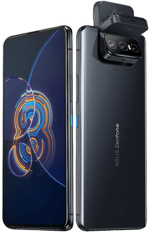 "Smartphone Asus ZenFone 8 Flip 6.67"" (8 / 256GB) 90Hz Aurora Black"