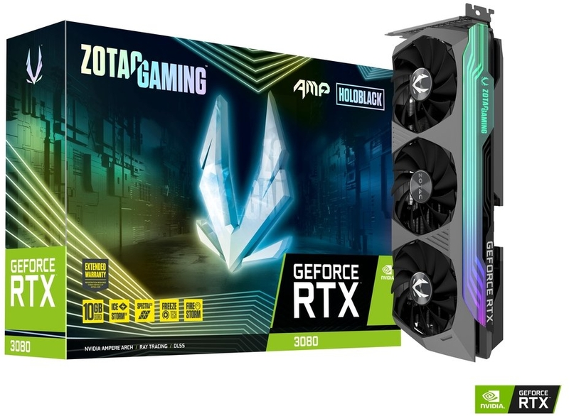 Gráfica ZOTAC GeForce® RTX 3080 AMP Holo 10GB GD6X